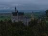 Schloss Neuschwanstein am Abend