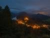 Blick auf Hohenschwangau im Abend