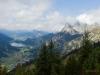 Blick vom Hahnenkamm Höfen (ca. 1800 m hoch)