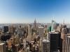 Blick vom Rockefeller Center zum Empire State Building